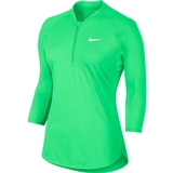 Nike Dry Pure 1/2- Zip Women's Tennis Top