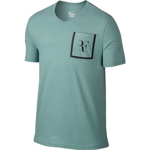 Nike Roger Stealth Vneck Men's Tennis Tee