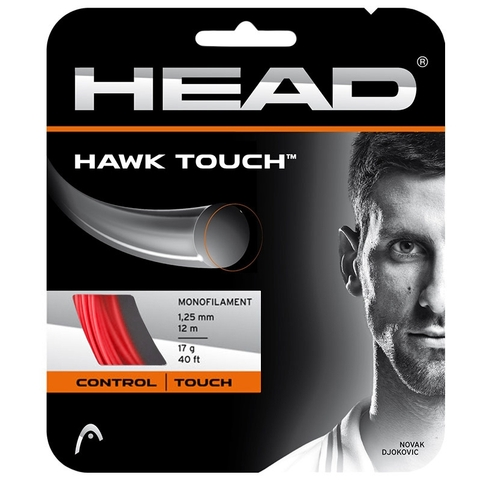 Head Hawk Touch 17 Tennis String Set - Red