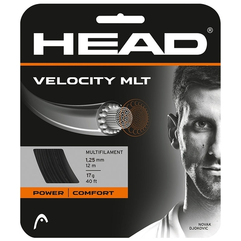 Head Velocity Mlt 17 Tennis String Set - Black