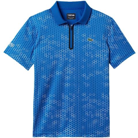 Lacoste Printed Ultradry W/Zipper Men's Polo
