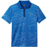 Lacoste Printed Ultradry W/Zipper Men's Polo