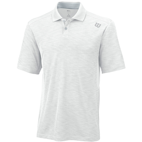 Wilson Textured Men's Tennis Polo