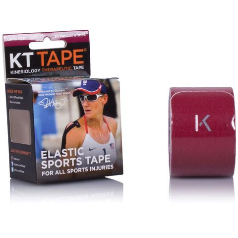 Kt Tape Elastic Athletic Tennis Tape - Dark Red