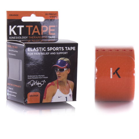 Kt Tape Elastic Athletic Tennis Tape - Orange