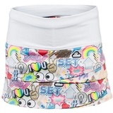 Lucky In Love Super Star Scallop Girl's Tennis Skirt