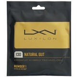 Luxilon Natural Gut 1.30 Tennis String Set