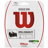 Wilson Revolve Spin 17 Tennis String Set - Green