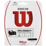 Wilson Revolve Spin 17 Tennis String Set - Black