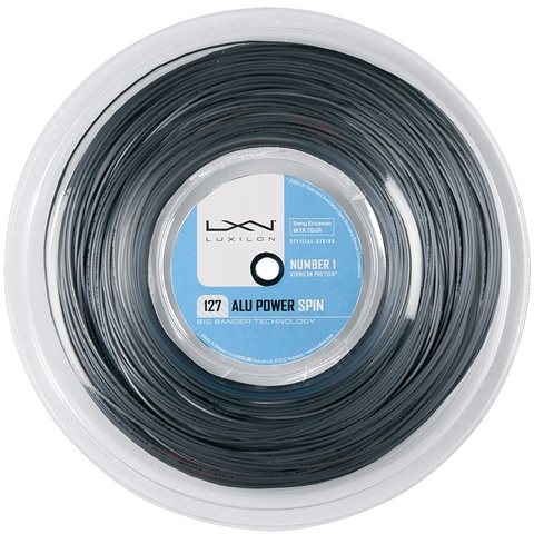 Luxilon Alu Power Spin 127 Tennis String Reel