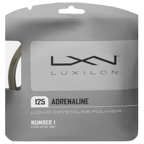 Luxilon Adrenaline 16l Tennis String Set