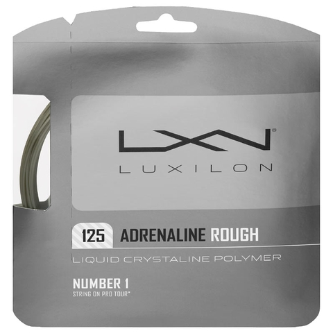 Luxilon Adrenaline Rough 125 Tennis String Set