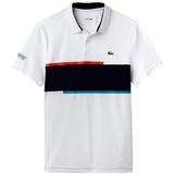 Lacoste Chest Stripe Ultradry Pique Men's Tennis Polo