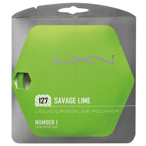 Luxilon Savage 16 Tennis String Set