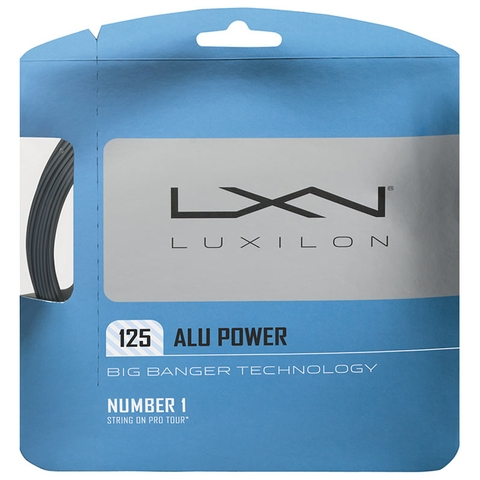 Luxilon Big Banger Alu Power 16l Tennis String Set