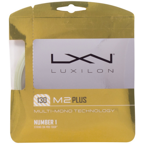 Luxilon M2 Plus 16 Tennis String Set