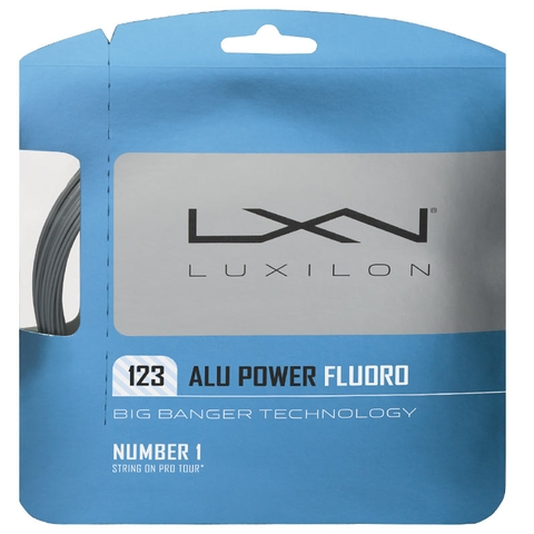 Luxilon Big Banger Alu Power Fluoro 17 Tennis String Set