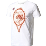 Adidas Roland Garros Graphic Men's Tennis Tee