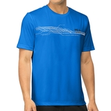 Fila Core Abstract Printed Men's Tennis Crew