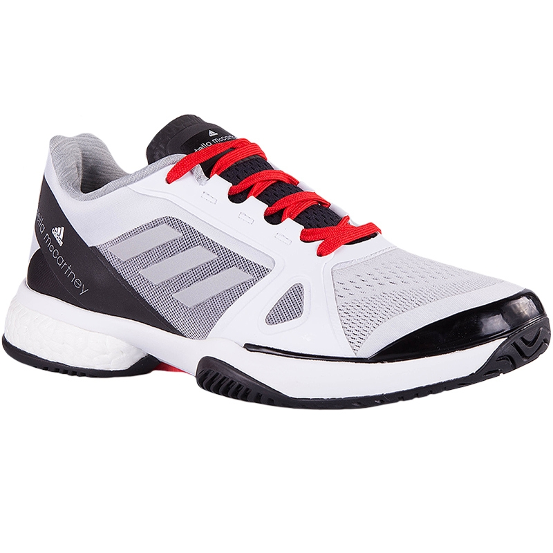 Adidas Barricade Boost 2017 Womens Tennis Shoe White/red