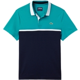 Lacoste Color Block Ultradry Zippered Men's Tennis Polo