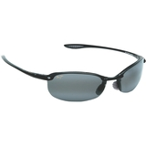 Maui Jim Grey Makaha Gloss Black Tennis Sunglasses