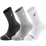 Babolat 3 Pair Pack Crew Boy's Tennis Socks