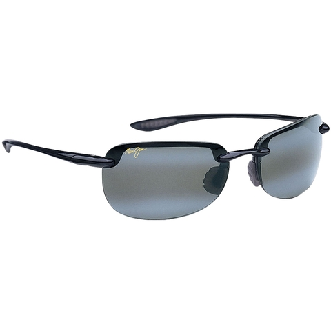Maui Jim Grey Sandy Beach Gls Black Tennis Sunglasses