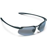 Maui Jim Grey Kanaha Gls Black Tennis Sunglasses