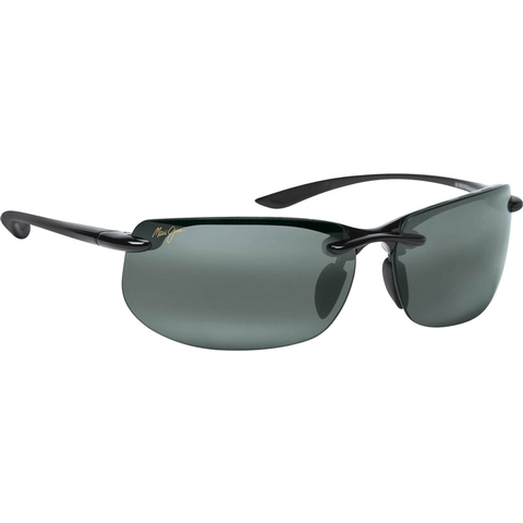 Maui Jim Grey Banyans Gls Black Tennis Sunglasses
