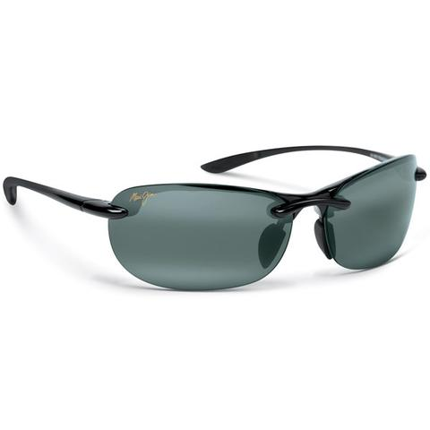 Maui Jim Grey Hanalei Gls Black Tennis Sunglasses