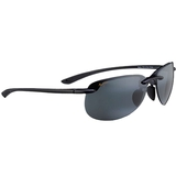 Maui Jim Grey Hapuna Gls Black Tennis Sunglasses
