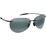 Maui Jim Gry Sugar Beach Gloss Black Tennis Sunglasses