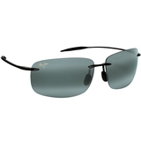 Maui Jim Gry Breakwall Gloss Black Tennis Sunglasses
