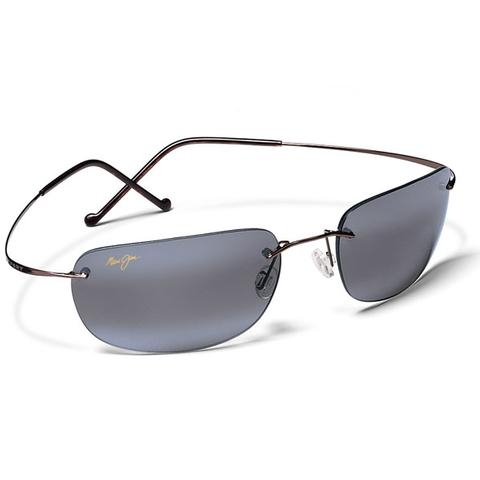 Maui Jim Grey Kapalua Titanium Gunmetal Tennis Sunglasses