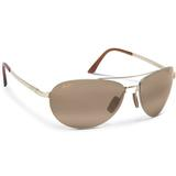 Maui Jim Hcl Pilot Gold Tennis Sunglasses