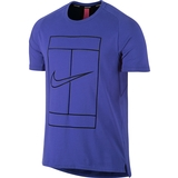 Nike Court Dry Baseline Rib Men's Tennis Top