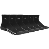Adidas Striped 6 Pack Crew Juniors ' Tennis Socks