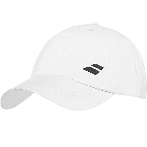 Babolat Basic Logo Youth Tennis Hat White e522cb31735