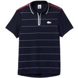 Lacoste Roland Garros UltraDry Zippered Men's Tennis Polo