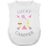 Lucky In Love Lucky Camper Girl's Tennis Tank