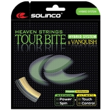 Solinco Tour Bite 17  Vanquish 16 Hybrid Tennis String Set