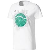 Adidas Wimbledon Graphic Men's Tennis Tee