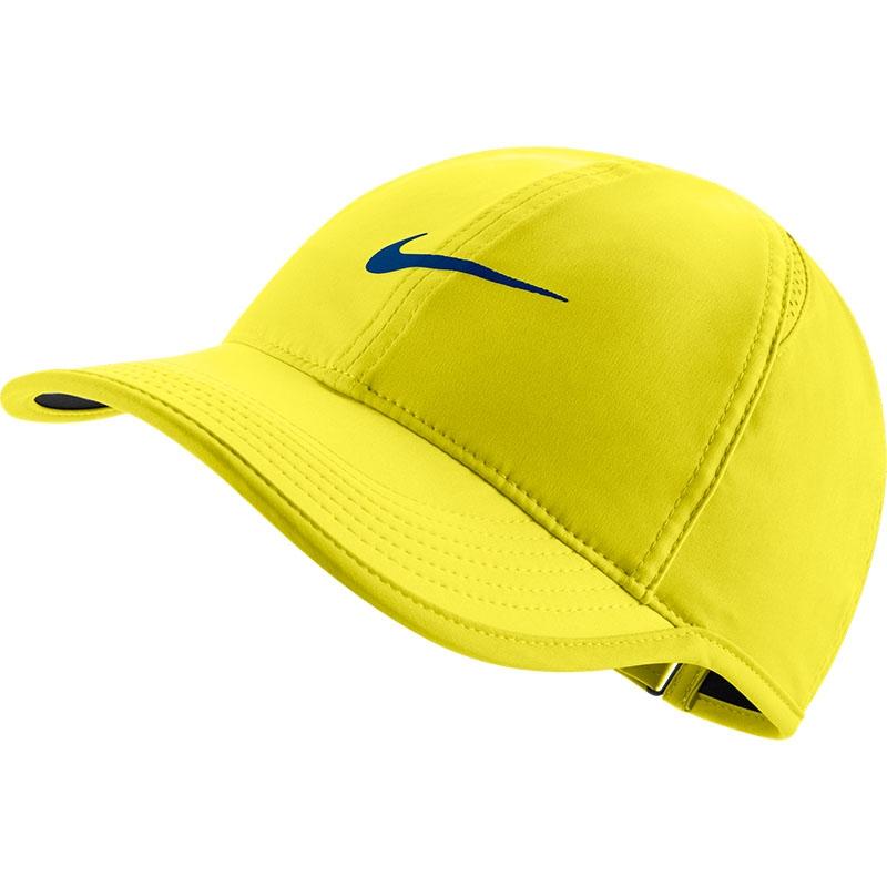 98b30cdc3e4 Nike Featherlight Women s Tennis Hat Yellow black
