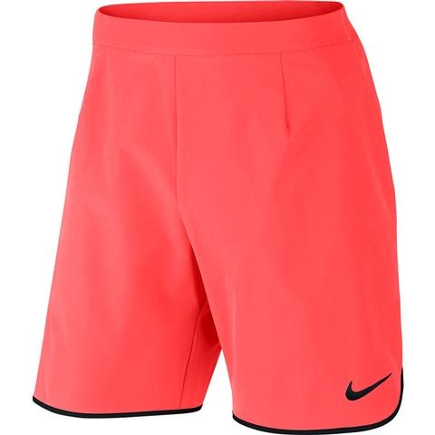 America obra maestra taquigrafía  Nike Gladiator 9 Men's Tennis Short Hotpunch/black