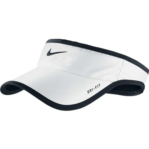 Nike Featherlight Dri Fit Tennis Visor White