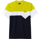 Lacoste Ultra Dry Color Block Men's Tennis T- Shirt
