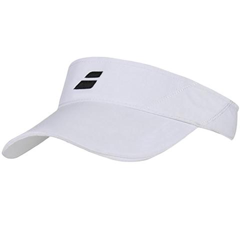 Babolat Basic Logo Youth Tennis Visor White 6809a037786