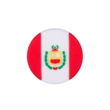 Tennis Plaza Peru Flag Tennis Dampener