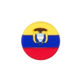 Tennis Plaza Ecuador Flag Tennis Dampener